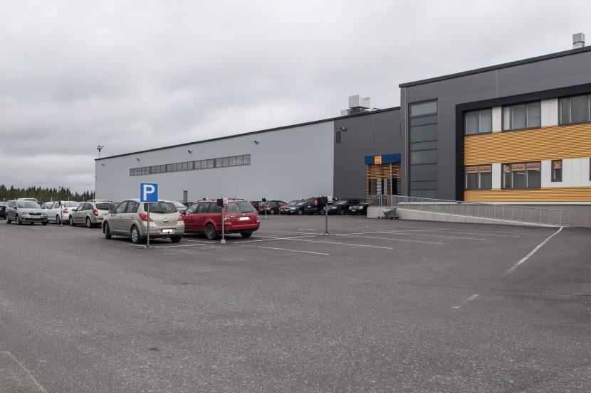 Postin logistiikkakeskus Työmaan valvonta, toteutus: 2014