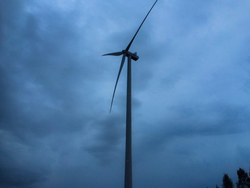 ABO Wind Oy, Tuulipuisto Haapajärvi, rakennuttaminen ja työmaan päätoteuttaja